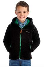 New Boys Regatta High Roller Fleece Hoody Jacket Black 11-12 Years EUR152 RRP£25