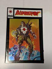 Bloodshot #1 February 1993 Valiant Comics Chromium Edition Embossed Cover Movie!