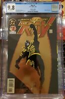 The Ray #1 Back in a Blaze Gold Foil Cover DC Comics 1994 (Direct Sale) cgc 9.8