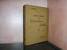 Histoire illustrée de la littérature latine par Humbert rhétorique éloquence