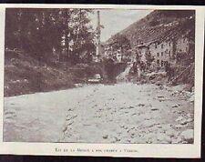1897  --  LIT DE LA MORGE A SON ENTREE A VOIRON  Q494
