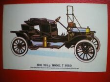 POSTCARD CAR 1910 20HP MODEL T FORD