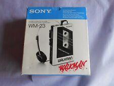 Sony WM23 Walkman in OVP. (ohne Anleitung) Siehe Bild&Text
