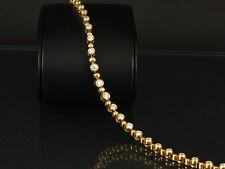 Wertvolles Brillant Armband ca. 2,70ct   13,3g 750/- Gelbgold
