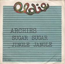 "Single 7"" Archies ""SUGAR SUGAR/Jingle Jangle"""
