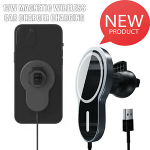 Magnetic Wireless charger Car Mount for iPhone 12/12 Pro/12 mini/12 Max