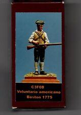 EL VIEJO DRAGON MINIATURAS C3F08 - VOLUNTARIO AMERICANO BOSTON 1775 - 54mm METAL