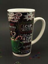Hot Cocoa Recipe, Coffee Mug, Hot Chocolate Mug, Tall, Ceramic,