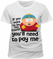 Official South Park Pay Me T Shirt If You Want To Be My Friend Eric Cartman