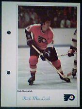 RICK MacLEISH PHILADELPHIA FLYERS  71/72 TORONTO SUN 5-1/4 X 7 PHOTO ROOKIE CARD