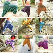 15 PCs Wholesale Lot Baggy Trousers Alibaba Harem Pants Ginnie Pants Cotton Boho