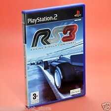 RS3 RACING SIMULATION THREE PS2 italiano usato