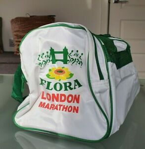 London Marathon Vintage Flora Gym Bag Holdall Retro Rare