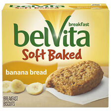 Soft Baked Banana Bread Biscuits, 5 Packs (1 Bis Per Pack)