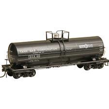 Kadee #9017 Tank Gas Corp. ACF 11,000 Gallon Tank Car Black TGCX #100 : HO Scale