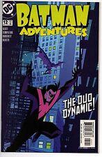 Batman Adventures # 12 Nm 2004 Nightwing Cover Robin Batcave Htf Low Print Slott