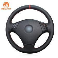 Design Leather Steering Wheel Cover for BMW 3 Series E90 E91 E92 E93 2006-2011