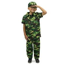Brybelly Mcos-403Ym Courageous Commando Childrens Costume Age 5-6