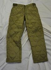 New green combat style linner for winter pants size medium (#bte72)