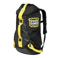 New REEBOK Crossfit 2014 Games - S13879 Black Yellow Backpack Duffle Bag