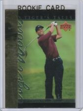 TIGER WOODS ROOKIE CARD World Cup GOLF RC 2001 Upper Deck Foil LE