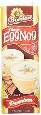 (Pack of 3) Borden Classic Premium EggNog 946ml (32 FL OZ) - USA Import