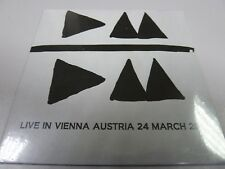 Depeche Mode – Live In Vienna Austria 24 March 2013  RARE USA PROMO FAN CLUB CD