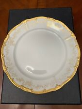 Weimar Dinner Plate With Gold Trim ~ Made In Germany Antique