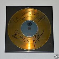Dream Theater CD + Deko goldene Schallplatte + 5 Autogramme/ Autograph in Person