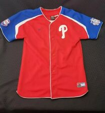 Vintage Nike Chase Utley Philadelphia Phillies Red Jersey Youth size XL Stitched