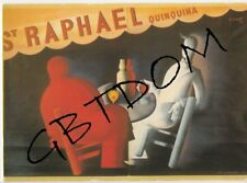 CP Pub St RAPHAEL - QUINQUINA - Charles LOUPOT - repro affiche
