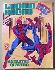 ALBUM L'UOMO RAGNO E I FANTASTICI QUATTRO D.N. COMPLETO EDICOLA 1978