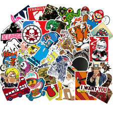Us Seller- 100pcs Stickers Motorcycle Skateboard Decal bumper stickers