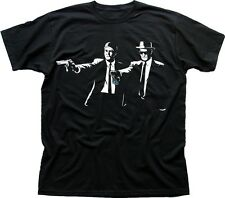 Breaking Bad PULP FICTION Jesse Walter Heisenberg black cotton t-shirt 9609
