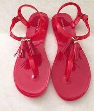 Buckle Flat (0 to 1/2 in.) Plastic Sandals & Flip Flops for Women