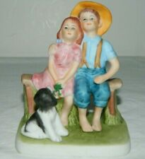 """Inspired By Norman Rockwell """"Sweet Serenade"""" Figurine Dave Grossman"""
