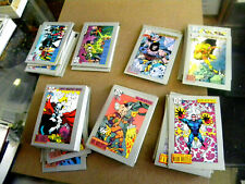 Impel 1991 complete DC COSMIC CARDS Series 1 180 card base set