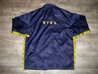 Vtg Nike Spellout Made in Taiwan Windbreaker Swoosh Coat Jacket Mens Size Xlarge
