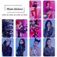 Kpop ITZY IT'z Different HD Photocard Stickers RYUJIN YUNA Photo Stikcy Cards