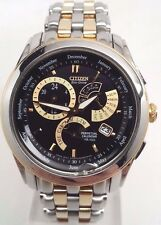 Citizen Eco-Drive Mens Calibre 8700 Two Tone  Blk Dial Watch BL8004-53E