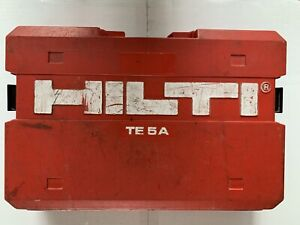 Hilti Hammer DRILL TE 5A (missing battery charger)
