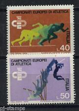 1974 Italië 1453-1454 EK atletiek  / EC track and field
