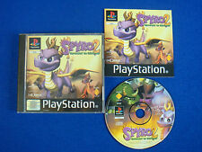 ps1 SPYRO 2 GATEWAY TO GLIMMER Playstation Game Boxed Complete PAL ps3