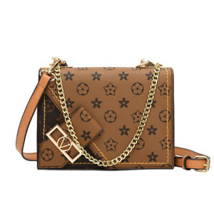 New Women Handbag PU Leather Shoulder Crossbody Bag Tote Messenger Satchel Purse