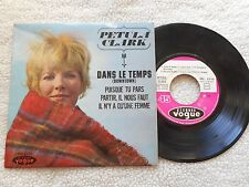 "PETULA CLARK ""DOWNTOWN"" 7"" 4 SONG E.P. PICTURE SLEEVE FRENCH IMPORT MINT-"