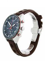 Tissot PRS 516 Chronograph Blue Dial Men's New Watch T100.417.16.041.00