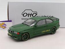 """OTTOmobile OT814 # AC Schnitzer BMW E36 CLS II Baujahr 1995 in """" grün """" 1:18 NEU"""