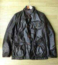 Barbour Mens Olive Dept B Commander Beacon Skyfall Wax Sports Jacket, Medium