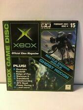 Official Xbox Demo Disc February 2003 Disc 15  Disc + Sleeve