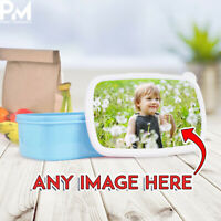 PERSONALISED PHOTO LUNCH BOX BAG - Ideal for School Any Photograph kids dinner